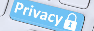 Privacy button