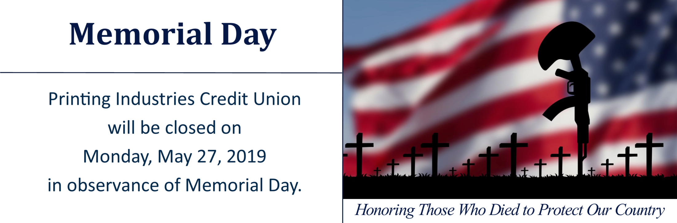 Credit Union Holiday Hours